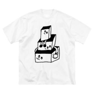 BOX BOX BOX Big silhouette T-shirts