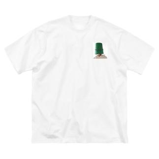 Me_natty Big silhouette T-shirts