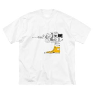 スタジオプロット Big silhouette T-shirts