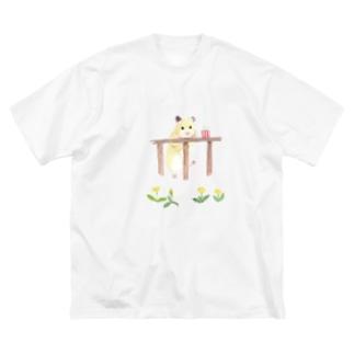 【KAMAP】ポップコーンとキンクマ Big T-shirts