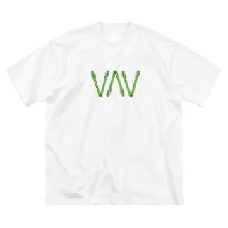 UMMER ONIC(トング) Big silhouette T-shirts