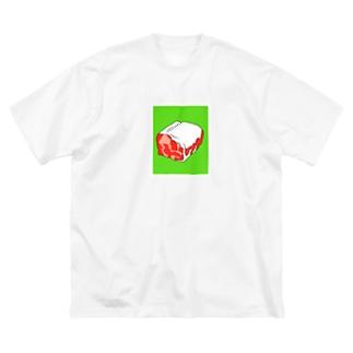 UMMER ONIC 2020 公式グッズショップのUMMER ONIC (肉) Big Silhouette T-Shirt