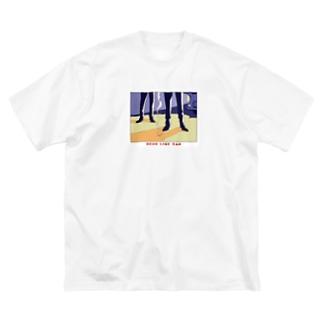 ねこぜもんのDEAD LINE 2AM Big silhouette T-shirts