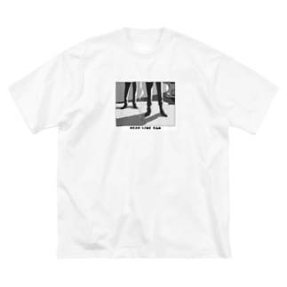 DEAD LINE 2AM (オールド) Big silhouette T-shirts