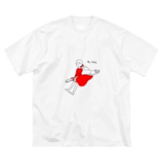 BE FREE Big silhouette T-shirts