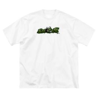 """ENGINE"" Big Silhouette T-Shirt"
