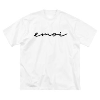 emoi(エモい) Big silhouette T-shirts