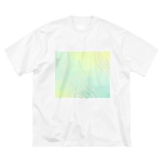 漂う Big silhouette T-shirts