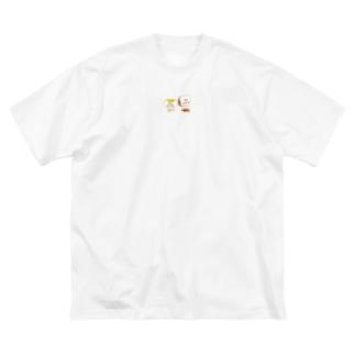 ぷんぷん Big silhouette T-shirts