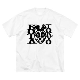 A STORE MACROMANCEのKOTAくん Big silhouette T-shirts