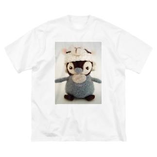 ペンギンくん Big silhouette T-shirts