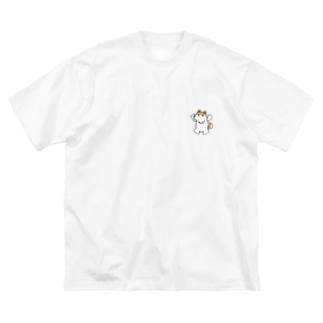 そらまるビッグT Big silhouette T-shirts