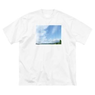 癒しの風景(空と雲) Big T-shirts
