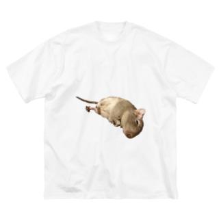 テグタン事件簿 Big silhouette T-shirts