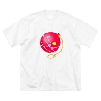 ヨーヨー Big silhouette T-shirts