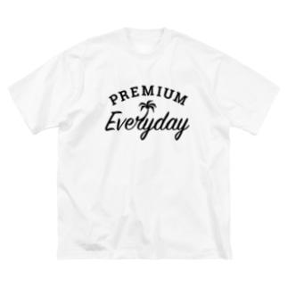 PREMIUM EVERYDAY Big silhouette T-shirts
