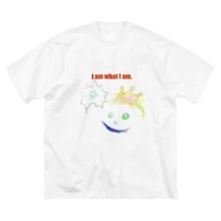 I am what I am. Big silhouette T-shirts