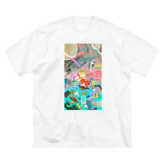 mirage_collection Big Silhouette T-Shirt