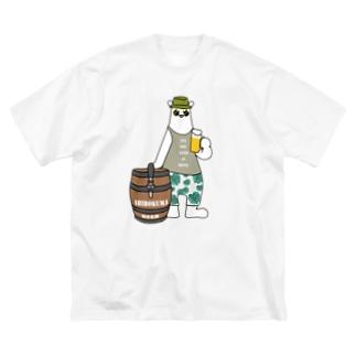 ビアクマ Big Silhouette T-Shirt