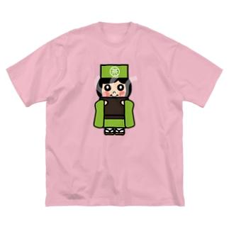 お茶子ちゃん Big silhouette T-shirts