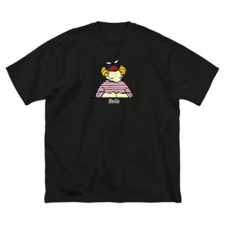 トリコロールベル Big silhouette T-shirts