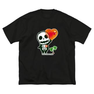 CT66 愛してガイコッチャ Big silhouette T-shirts
