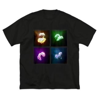Rosetta [ 4C] Big silhouette T-shirts