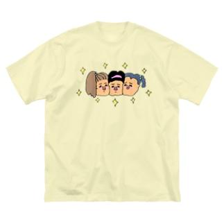 友達っていいね Big silhouette T-shirts