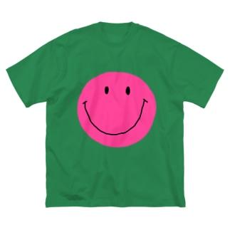 スマイル Big silhouette T-shirts