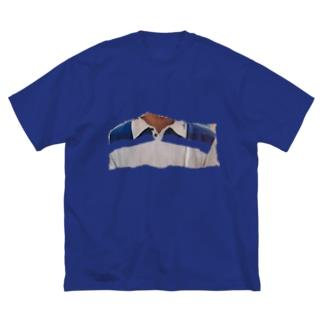ポロシャツ? Big silhouette T-shirts