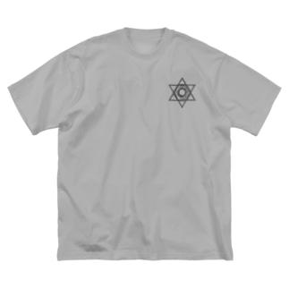 BLACKINK のUNICORN Big silhouette T-shirts