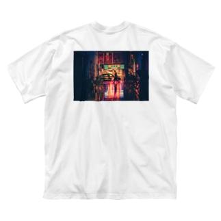 吉野家Tシャツ Big silhouette T-shirts