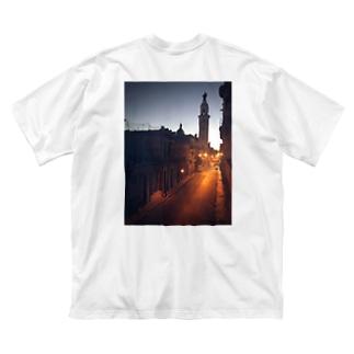Amanecer en Cuba Big silhouette T-shirts
