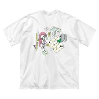 Mental Status Big silhouette T-shirts