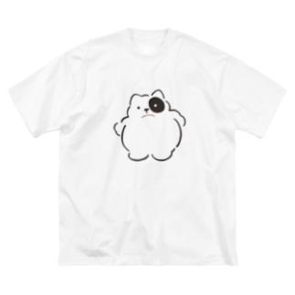 みかたきなこのメタボーロ Big silhouette T-shirts