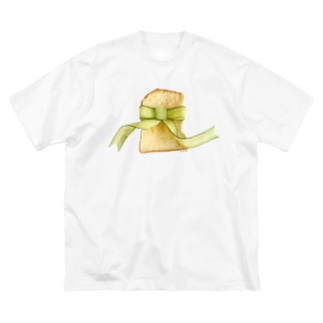 きゅうりリボントースト Big silhouette T-shirts