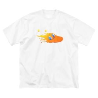 スプラッシュでんどろ Big silhouette T-shirts