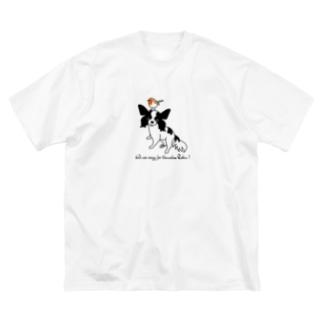 ROBIN B Big silhouette T-shirts