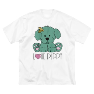 JOKERS FACTORYのPUPPY Big silhouette T-shirts