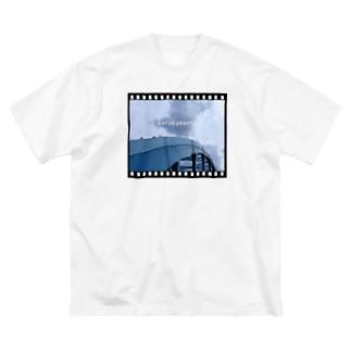 丸子橋 Big silhouette T-shirts