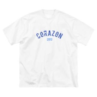 コラT Big silhouette T-shirts