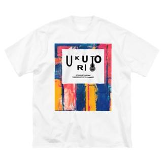 ちょっとロックなウクトリT(ビッグシルエット) Big silhouette T-shirts
