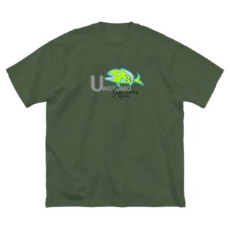 UWOTOMO Big silhouette T-shirts