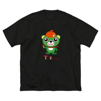 大崎一番太郎(丸与POP風味MARK2) Big silhouette T-shirts