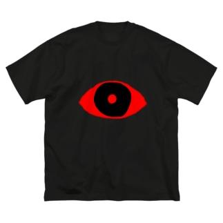 赤目 Big silhouette T-shirts