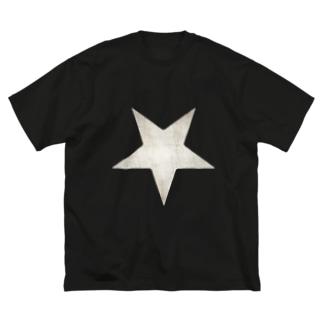 Inverted Blurstar Big silhouette T-shirts