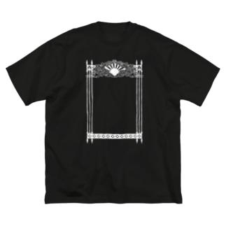 天国の門 Big silhouette T-shirts