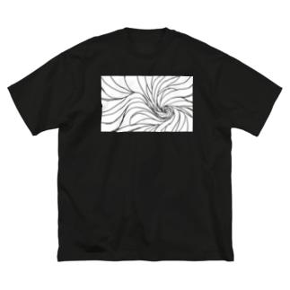 東風(皓) Big silhouette T-shirts