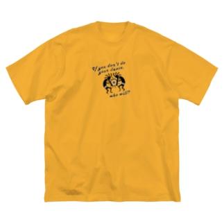 ココペリダンス Big silhouette T-shirts