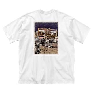 """し""""ょーし""""のUNDER NORTH SWAMP オリジナルフォトTシャツ Big silhouette T-shirts"""